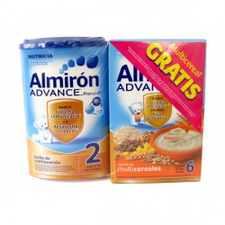 PACK ALMIRON ADVANCE 2 + MULTICEREALES 6 (800 G + 500 G)