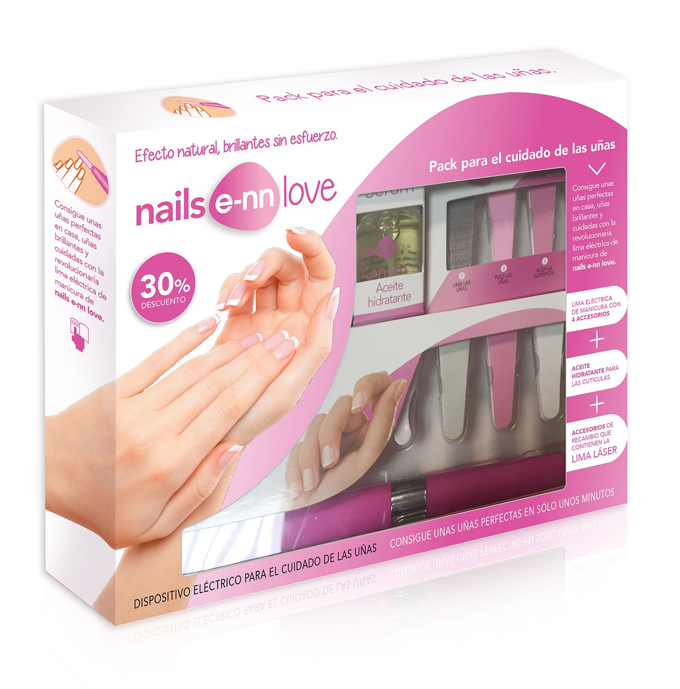 NAILS ENN LOVE PACK COMPLETO UÑAS - Satisfarma