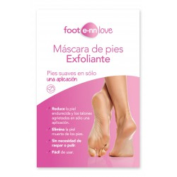 FOOT E-NN LOVE CALCETINES EXFOLIANTES 2 UNIDADES