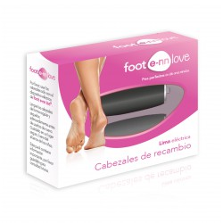 FOOT E-NN LOVE RODILLOS PEDICURA RECAMBIOS