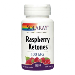 SOLARAY RASPBERRY KETONES 100MG 30 CAPSULAS