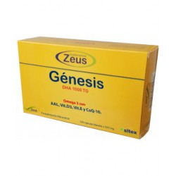 ZEUS GENESIS DHA TG 1000 120 CAPSULAS