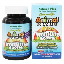 NATURES PLUS ANIMAL PARADE KIDS IMMUNE BOOSTER 90 COMP