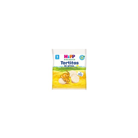 HIPP BIOLOGICO TORTITAS DE ARROZ 30G