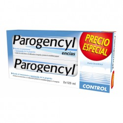 PAROGENCYL CONTROL PASTA DENTAL 2x125 ML