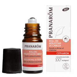 PRANAROM CEPHAROM ROLL-ON MOLESTIAS DE CABEZA 5ML