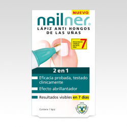 NAILNER LAPIZ ANTIHONGOS 2 EN 1 4ML