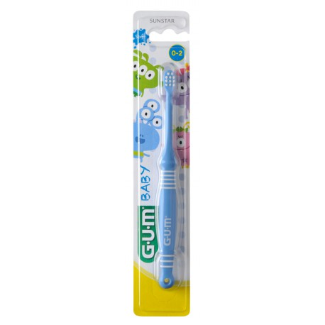 CEPILLO DENTAL INFANTIL GUM- 213 BABY CEPILLO 0-