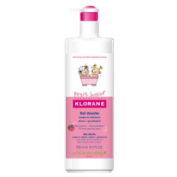KLORANE PETIT JUNIOR GEL DE DUCHA FRAMBUESA 200ML
