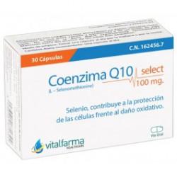 VITALFARMA COENZIMA Q10 SELECT 100 MG 30 CAPS
