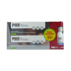 PACK PHB WHITE PASTA BLANQUEADORA 100ML X2 UDS. + REGALO COLUTORIO 55ML