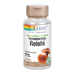 SOLARAY FERMENTED REISHI 500 MG 60 CAPS