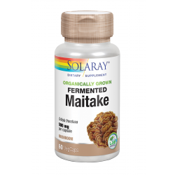SOLARAY FERMENTED MAITAKE 500MG 60 CAPS
