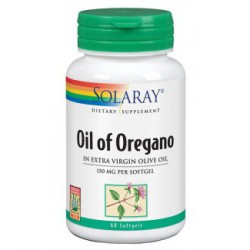 SOLARAY OIL OF OREGANO (ACEITE ORÉGANO) 60 COMPRIMIDOS