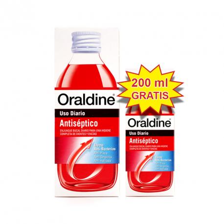 ORALDINE ANTISEPTICO PACK 400+200ML