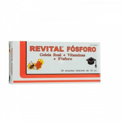 REVITAL FOSFORO 20 AMPOLLAS BEBIBLES