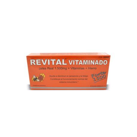 REVITAL VITAMINADO FORTE 20 VIALES BEBIBLES