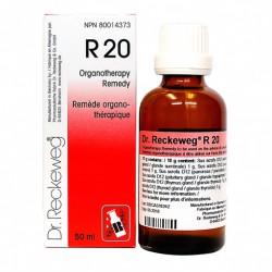 RECKEWEG R-20 GOTAS 50ML (EUGLADIN-F)