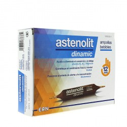 ASTENOLIT DINAMIC 12 AMPOLLAS BEBIBLES