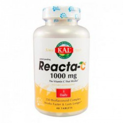SOLARAY KAL REACTA-C 1000MG 60 COMPRIMIDOS