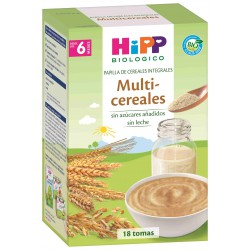 HIPP PAPILLA MULTICEREALES +6 MESES 400 GRAMOS