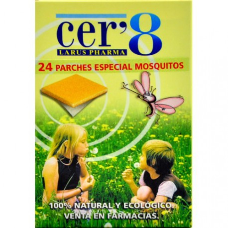 CER8 ANTIMOSQUITOS 24 PARCHES