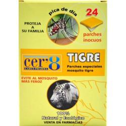 CER8 ANTIMOSQUITOS TIGRE 24 PARCHES