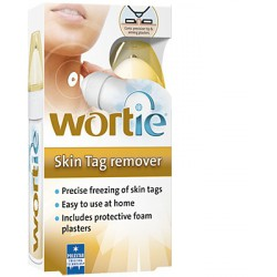 WORTIESKIN TAG REMOVER + PARCHE PROTECTOR TUBO 50 ML + 6 PARCHES