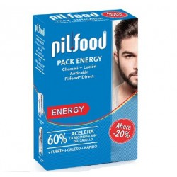 PILFOOD PACK ENERGY LOCION + CHAMPU ANTICAIDA