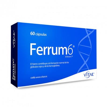 VITAE FERRUM 6 60 CAPSULAS