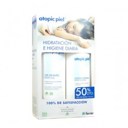 ATOPIC PIEL PACK GEL BAÑO 750ML + LOCIÓN CORPORAL 500ML