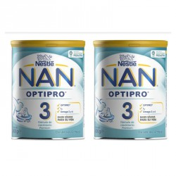NAN 3 OPTIPRO PACK AHORRO 2 X 800G