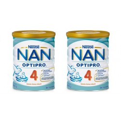 NAN 4 OPTIPRO PACK AHORRO 2X800G
