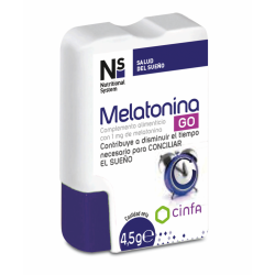 NS MELATONINA GO 1MG 60 COMPRIMIDOS
