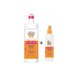 KLORANE JUNIOR PACK CHAMPU 500ML + SPRAY 125ML