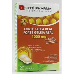 FORTE PHARMA JALEA REAL 1000MG 20 COMPRIMIDOS MASTICABLES