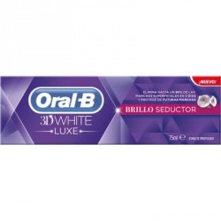 ORAL-B 3DWHITE LUXE BRILLO SEDUCTOR PASTA DENTAL 75 ML