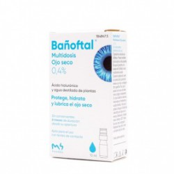 BAÑOFTAL MULTIDOSIS OJO SECO 0,4% 10ML