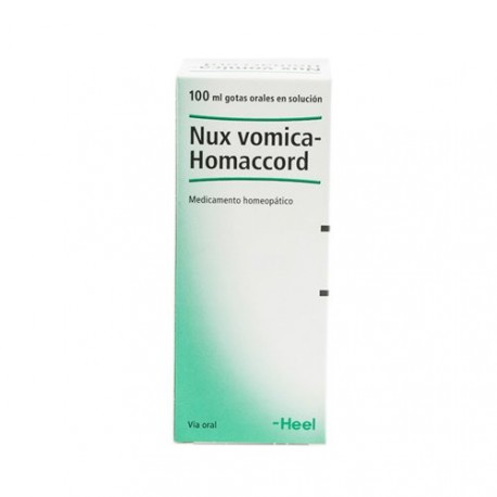 HEEL NUX VOMICA HOMACCORD GOTES 100ML