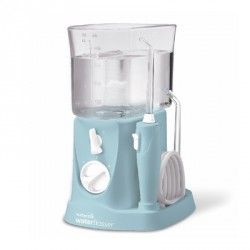 IRRIGADOR BUCAL ELECTRICO WATERPIK WP-300 TRAVELER COLOR AZUL
