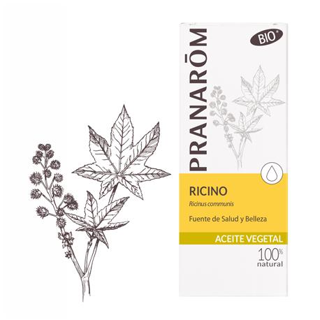 PRANAROM ACEITE BIO DE RICINO 50ML