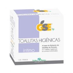 GSE INTIMO TOALLITAS HIGIENICAS 20 TOALLITAS