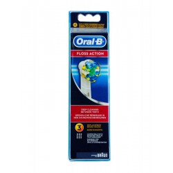 ORAL-B RECAMBIO CEPILLO ELÉCTRICO FLOSS ACTION 3 UDS