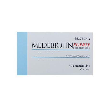 MEDEBIOTIN FUERTE 5 MG 40 COMPRIMIDOS
