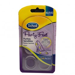 DR SCHOLL PARTY FEET PUNTOS SENSIBLES 6 UDS
