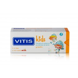 VITIS KIDS GEL DENTÍFRICO SABOR CEREZA 50ML