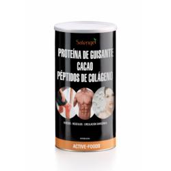 SALENGEI PROTEINA DE GUISANTE CON CACAO Y COLÁGENO 500G