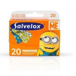 SALVELOX APOSITO ADHESIVO MINIONS 20UDS