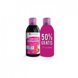 PACK TURBOSLIM DRENANTE FRAMBUESA 2X500ML