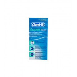 ORAL-B SUPER FLOSS SEDA DENTAL 50 METROS